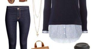 Pullover/ Hemd/ Kombination/ Herbst - #Hemd #Herbst #Kombination #oxford #Pullov...