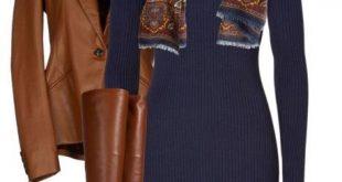 11 niedliche gemütliche Herbst-Outfits mit Schals