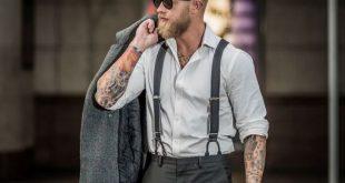 hosenträger für männer herrenmode accessoire stilbewusst modetrends breit anz...