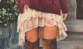 Outfits with Boots u2013 60 Cute Outfits to Wear with Boots for Girls Fashion O...