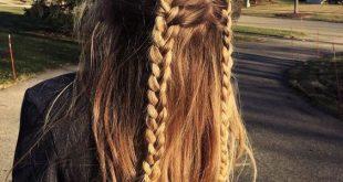 54 Niedliche und einfache lange Frisuren für die Schule für Herbst und Winter