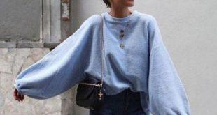 Dieses flauschige Pullover-Outfit ist ein Muss für den Winter!