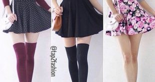 How do people wear knee high socks a whole day wit... - #Day #high #Knee #People...