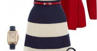 Immer wieder trendy! Marine look (Farbpassnummern 30/1/34) Kerstin Tomancok / Fa...