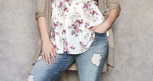 Plus Size Fall Outfit Idee – Plus Size Mode für Frauen #plussize