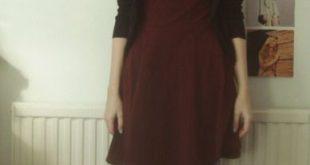 layers, burgundy, shirt, style, fashion, simple, autumn, winter